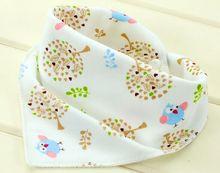 10pieces Cotton Bandana Bibs For Babies