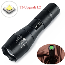UniqueFire BTC-03 XML2 Zoomable Led Flashlight Waterproof Ultra Bright 5 Modes Torch Lights Bike Light Rechargeable