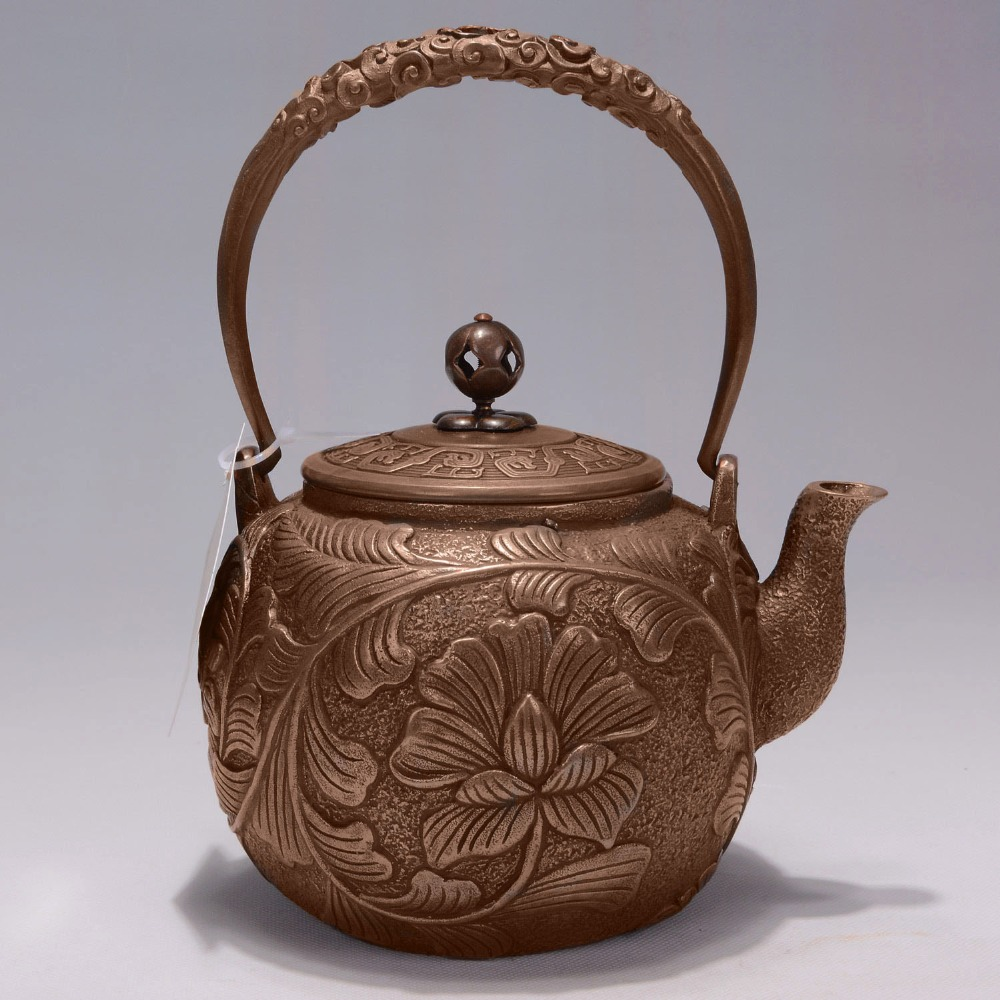online get cheap pouring teapot aliexpresscom  alibaba group - oriental handmade handpainted copper teapot with flower design vintagecopper teakettle coffee pouring pot stovetop teapot