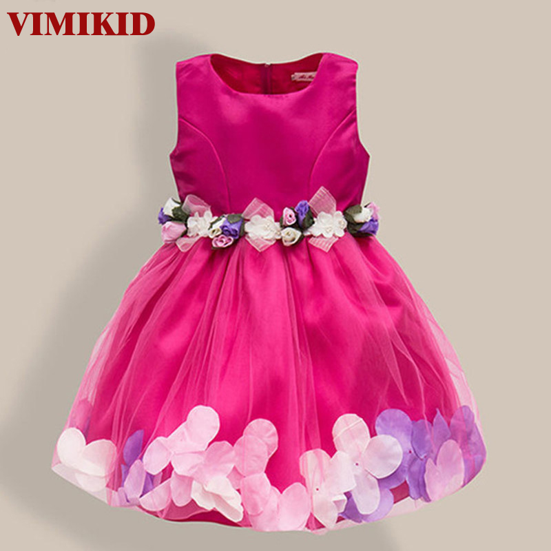New Fashion Sequin Flower Dress Party Birthday Wedding Princess Toddler Baby Girls Clothes Children Kids Lycra Dresses high quality new fashion flower girl dress party birthday wedding princess toddler baby girls clothes children kids girl dresses