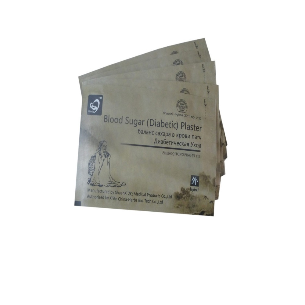 10pc Diabetes Treatment medical Lower Blood Glucose Cure Diabetic Patch Reduce Blood Sugar Diabetic Complications Reduce Insulin diabetic 10