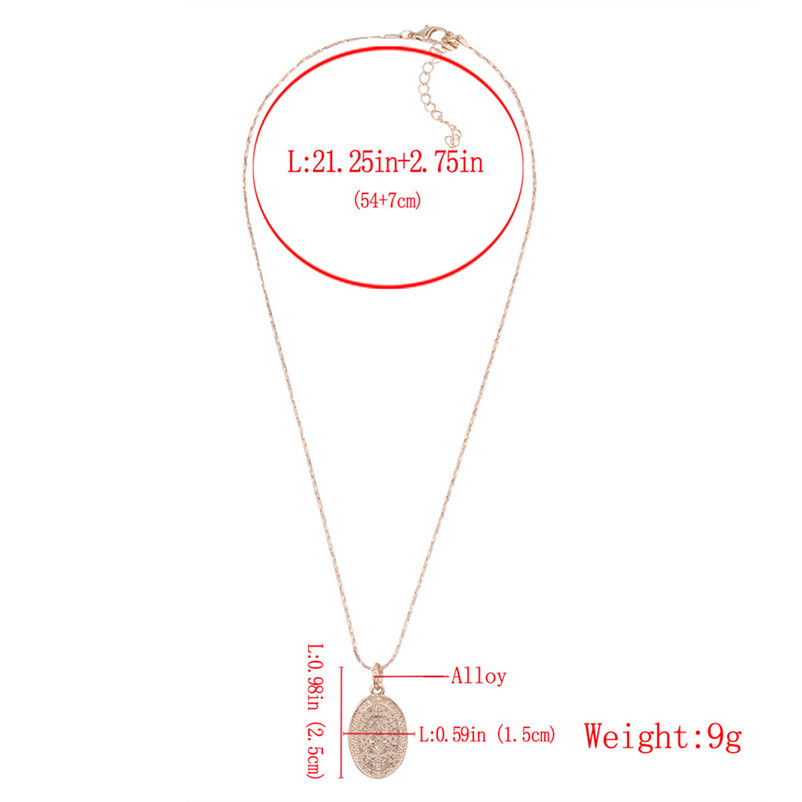New Arrival Fashion chokers necklaces for women Double layer Chunky Jewelry necklace Pendant Neck accessories Collier A08#N (6)