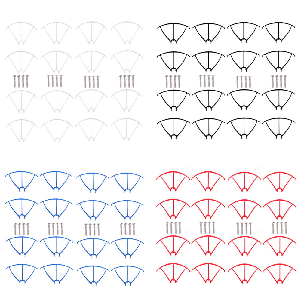 16pcs/lot Original X5C Propellers Protector Prop Protective Guard for SYMA X5C-1 RC Quadcopter Helicopter Drone Spare Parts