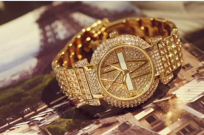 010776 Luster Women Watches Quartz Geneva Rhinestone Luxury Roman Lady Relogio Times Simple Superior Quality Casual s