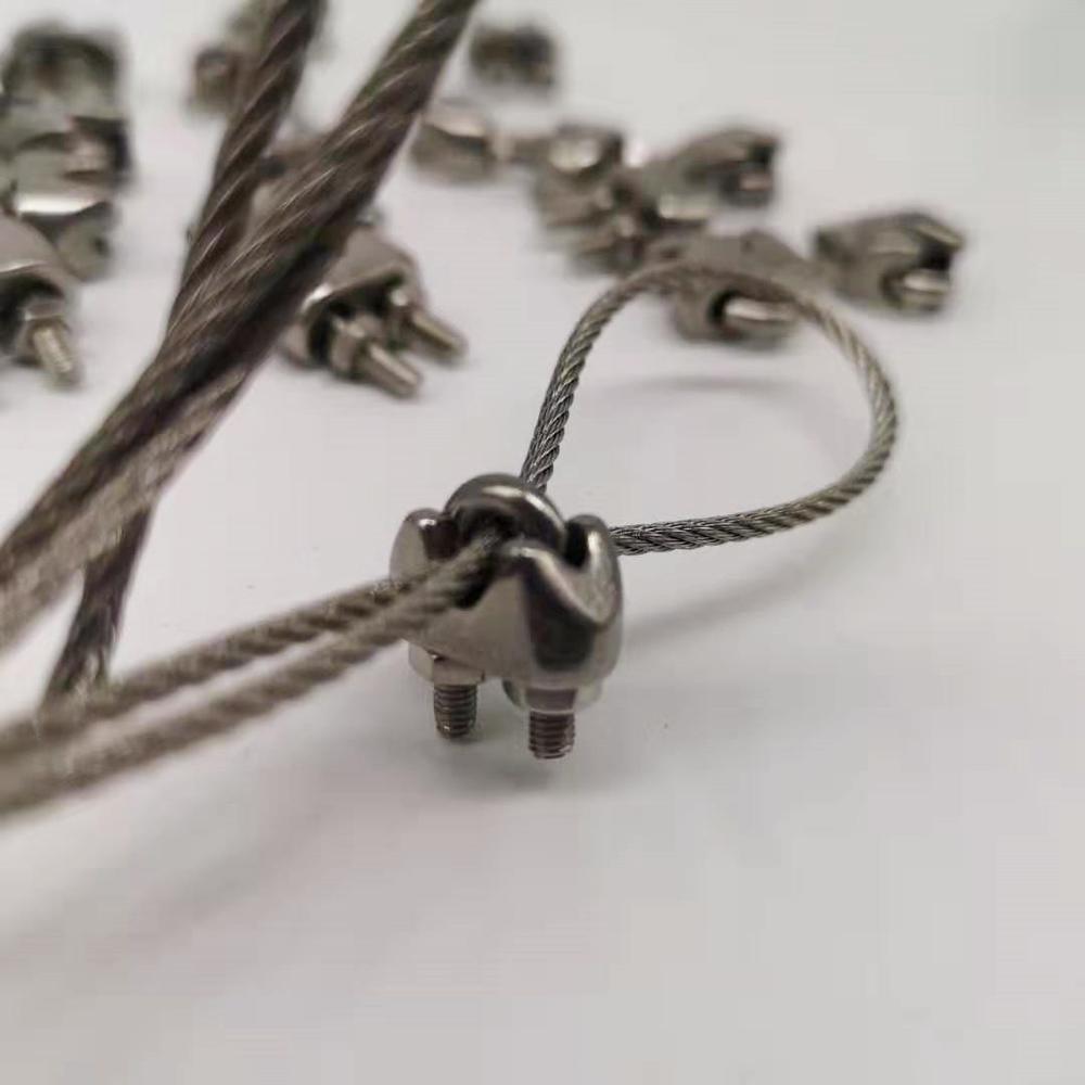 50 M/100 M 1,8 мм Диаметр 304 нержавеющей стальной трос мягче Рыбалка подъема кабель 7X7 Структура диаметр 1,8 м