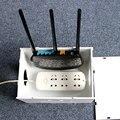 Новое Поступление Wi-Fi Маршрутизатор Кабель Питания Штекер Провода Ящики Для Хранения Полки Высокое Качество