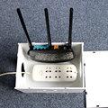 Nueva Llegada Wifi Router Cable Cajas De Almacenamiento Estantes de Alambre Clavija de Alimentación de Alta Calidad