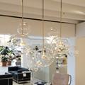 Творческая личность постмодерн простота подвесной светильник Скандинавская гостиная ресторан спальня пузырьковый шар светодиодный подве...