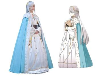 Fate Grand Order Princess Anastasia Cosplay Fancy Dress FGO Cosplay Costume Girls Gorgeous Outfit Halloween Costumes for Women 1