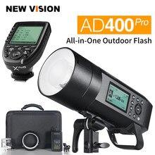 Godox AD400Pro tout-en-un TTL HSS 2.4G sans fil X système Flash extérieur avec émetteur Xpro pour Canon Nikon Sony Fuji etc.