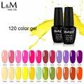 Ibggel Gel Nagellak Hele Set 120 Kleuren Hoge Pigment Nail Gel Vernis LED UV Gel Voor Nagel Gel Lak nagellak 15ML