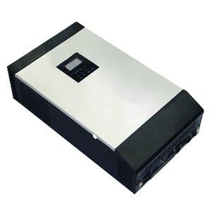 Image 4 - Гибридный инвертор немодулированного синусоидального сигнала 5KVA 48V 220V Встроенный MPPT 60A PV Контроллер заряда и зарядное устройство переменного тока для домашнего использования