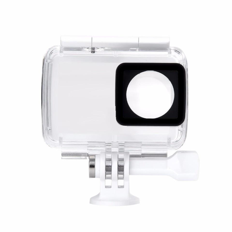 100% מקורי מהדורה בינלאומית Xiaomi יי מקרה עמיד למים צלילה 40m עבור Xiaomi יי 4K פעולה, מצלמה 2 אביזרים וכלי Aparts