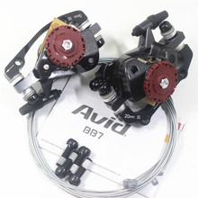 Mtb Bike Brake Caliper AVID BB7 Line Pulling Disc With Cable