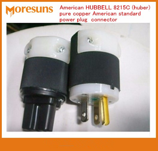 Fast Free Ship 5 Pair New American 8215C Pure Copper American Standard Power Plug Connector