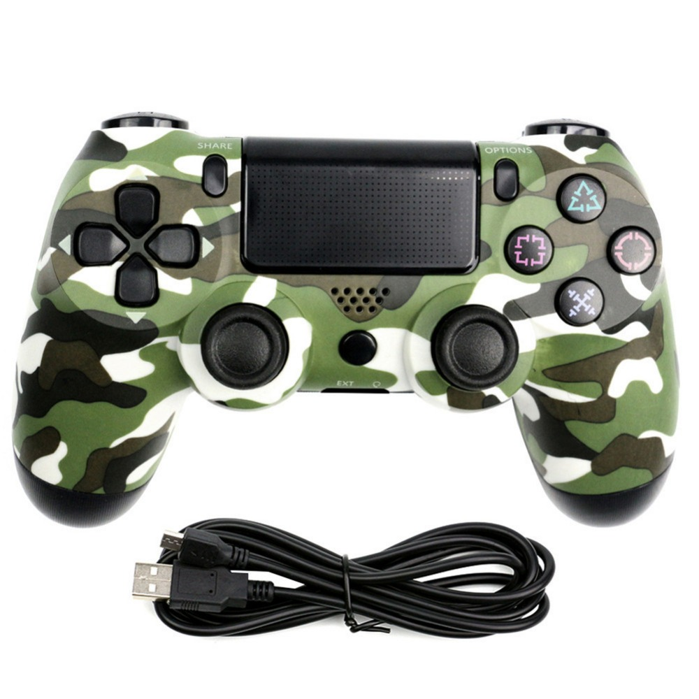 USB Wired Gamepad Controller Vibrating Snowflake Button For PS4 Controller  For Sony Playstation 4 DualShock Vibration Joystick