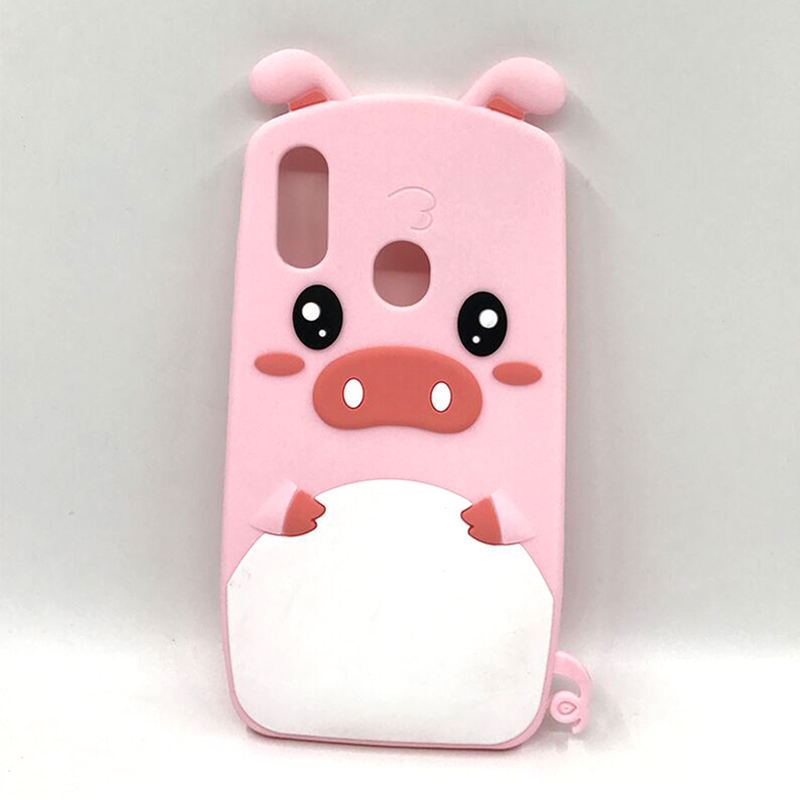 Cute Cartoon Pink <font><b>Case</b></font> For Huawei Nova 3i 3 i P20 P10 Lite <font><b>Honor</b></font> 10 9 Lite 7C <font><b>7A</b></font> 8X P Smart Y5 Prime Y6 2018 Soft <font><b>Silicone</b></font> Cover image
