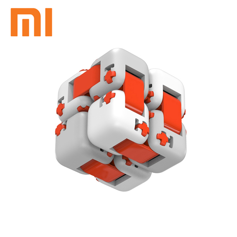 Original XiaoMi Mitu Finger Bricks Mi Building Blocks Finger Spinner Gift For Kids Safety Portable Builder Smart Mini Toys