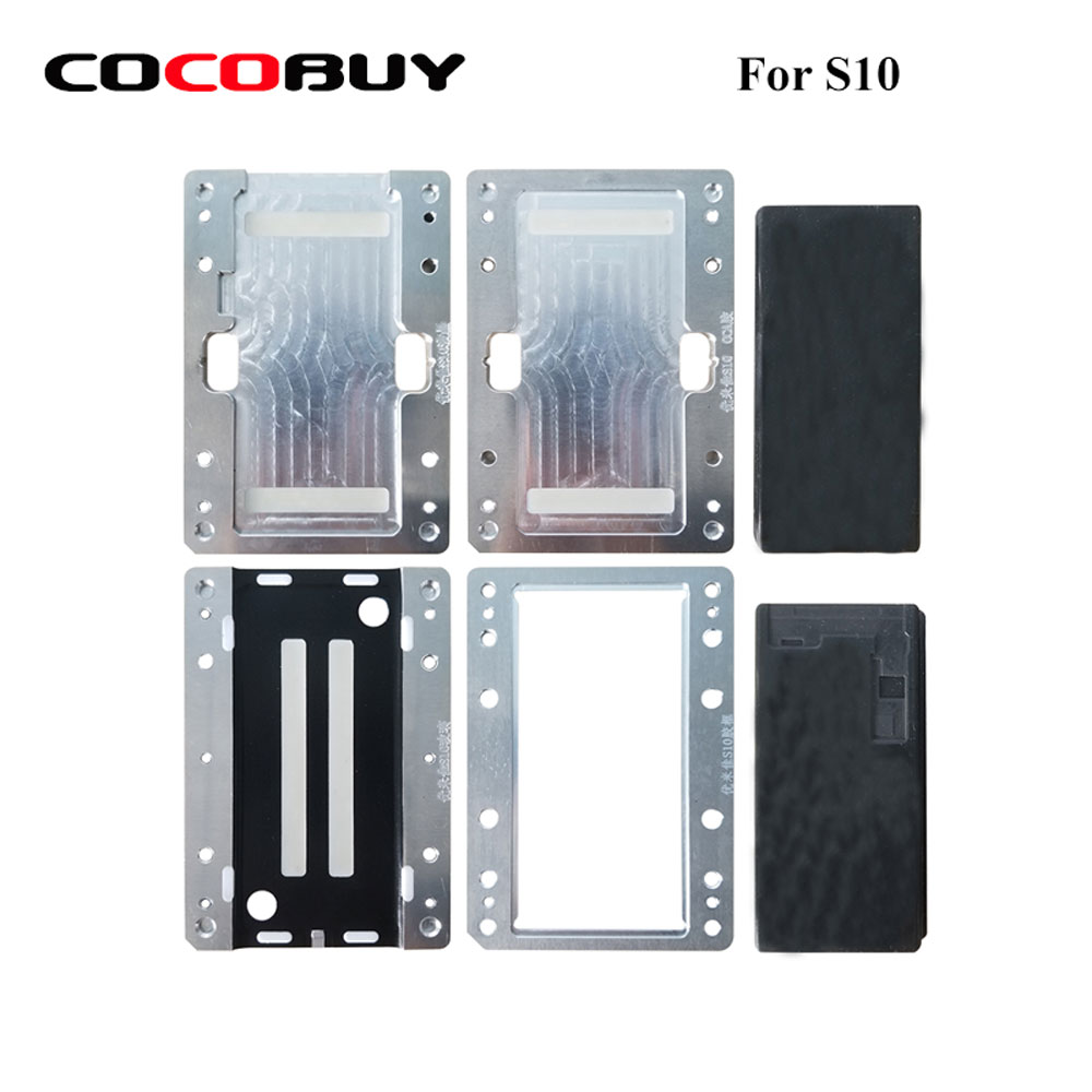 For Samsung Galaxy edge S10 S10P laminating mold Alignment mould LCD OCA Polarizer Film Laminating repair