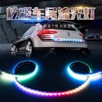 1.2M Car trunk streamer lantern LED tail box light FOR ALFA ROMEO Mito 147 156 159 166 Giulietta Spider Car Styling Accessories