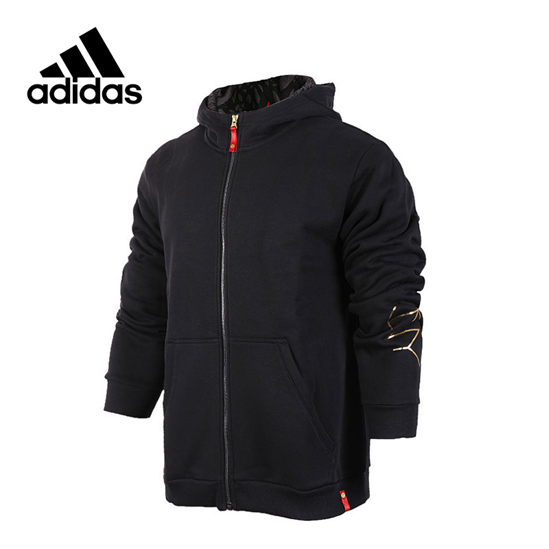 New Arrival 2017 Original Adidas CNY FZ Men's jacket Hooded Sportswear цена