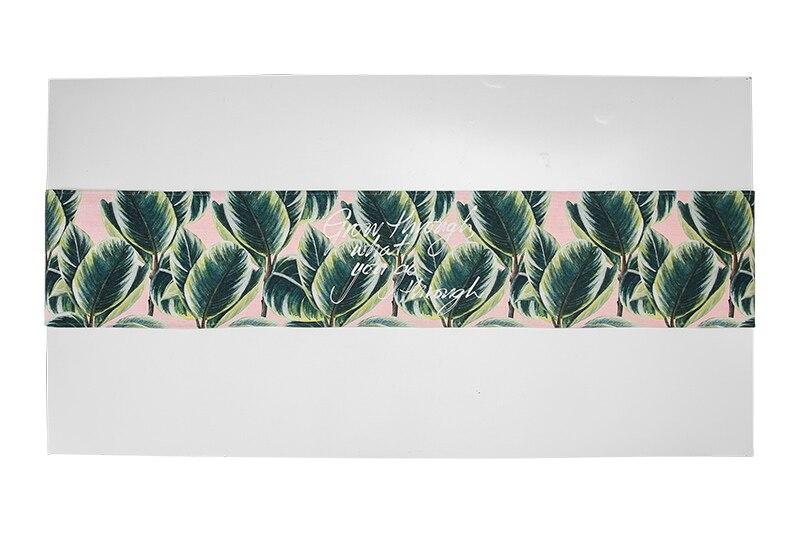 Mode Hause Nordic stil grau blau anlage muster baumwolle tisch läufer Tisch flagge und Tischset tisch abdeckung