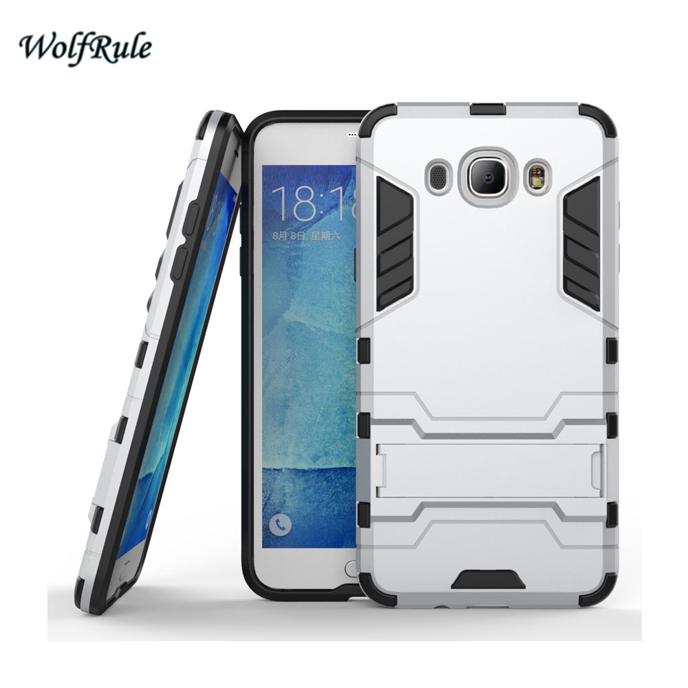 WolfRule sFor Case Samsung Galaxy J7 2016 Cover Soft TPU + Slim PC - Բջջային հեռախոսի պարագաներ և պահեստամասեր - Լուսանկար 4