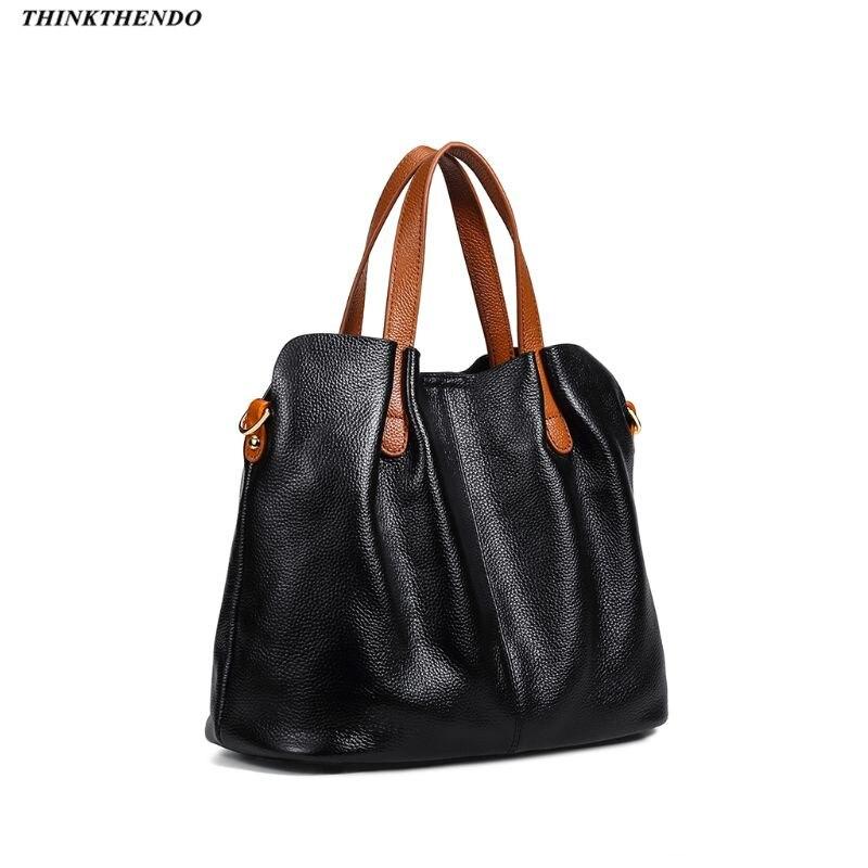 Sac à bandoulière en cuir véritable sac à bandoulière sac fourre-tout avec sac intérieur pour femmes plage voyage fête utiliser des fournitures