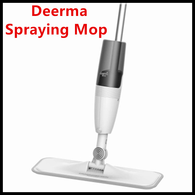 (In Stock) Xiaomi Ecological Chain Brand-Deerma Water Spraying Swiper Mop 0.7kg Carbon Fiber Cloth 360 Rotation for Smart Home