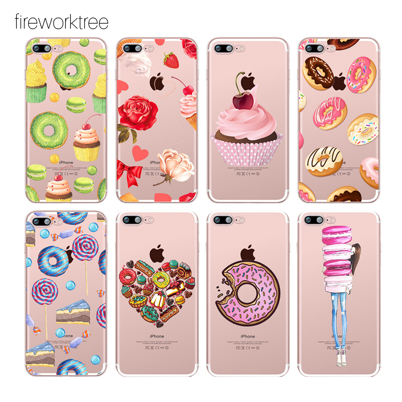2017 3d Silicone Soft Candy Cake Bear Color Cat Squishy Toy For Iphone 5 5s Se 6 6s 7 7 Plus Soft Tpu Phone Cases For Iphone7s Delicious In Taste Fitted Cases