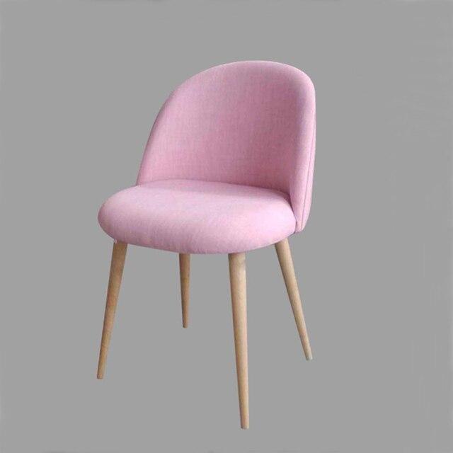 Leisure Cafe Chair Birch Wood Legs Foam Fill Seat