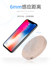 Qi Fast Wireless Charger For iPhone X 10 8 7 6s 5s Plus Charger USB 5V2A Power Charging For Samsung Galaxy S8 S9 plus Note 8 хлебница phibo 36 21 14 5 см