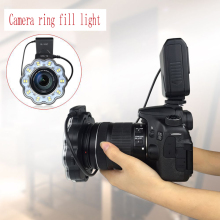 лучшая цена Camera LED fill light ring flash led photography light SLR camera universal led professional macro flash