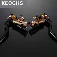 KEOGHS Motorcycle Brake Master Cylinder For Hydraulic Brake System 22mm 7/8'' Handlebars For Honda Yamaha Kawasaki Ducati Suzuki
