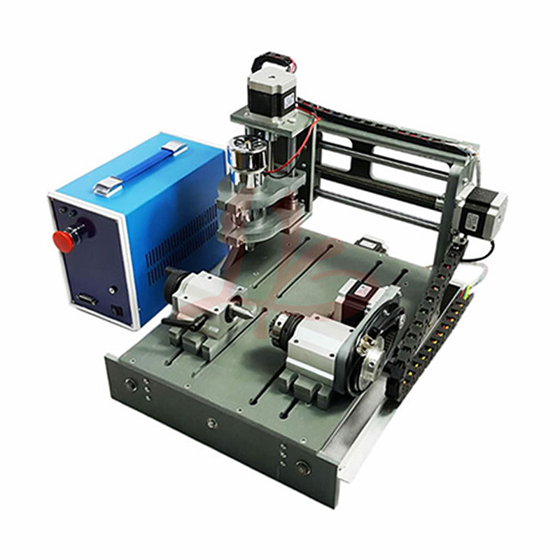 CNC Engraving Machine 2030 parallel port 4axis wood mini lathe for universal work CNC Engraving Machine 2030 parallel port 4axis wood mini lathe for universal work