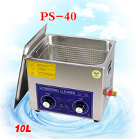 1PC110V/220V PS 40 250W10L Ultrasonic cleaning machines circuit board parts laboratory cleaner/electronic products etc