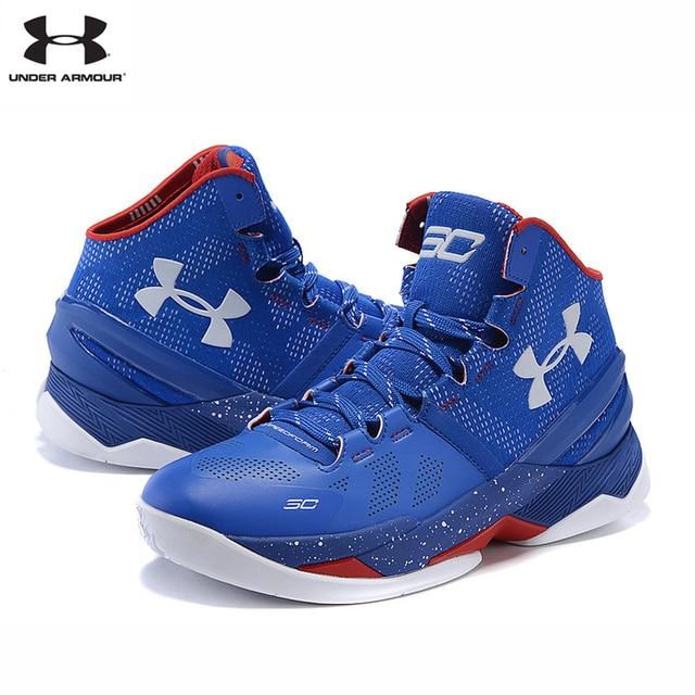 Hot Penjualan Di Bawah Armor UA Yang Curry 2 pria Olahraga Bernapas Sepatu  Basket Untuk Pria ef3f9f6aed