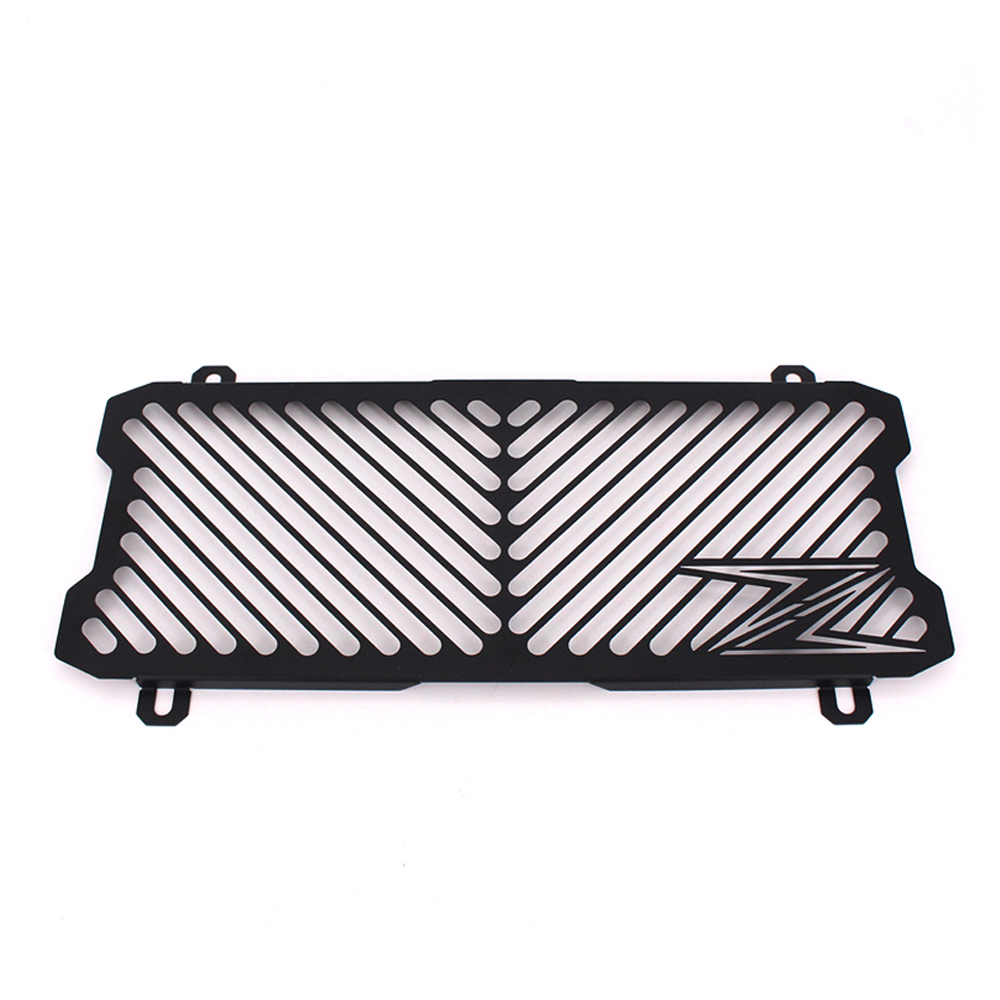 Black Motorcycle Accessories Radiator Guard Protector Grille Grill Cover For KAWASAKI Z650 /Z 650 kemimoto radiator guard for kawasaki z900 2017 radiator grill protector for kawasaki z 900 2017 moto motocycle parts accessories