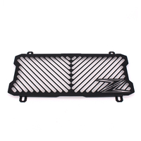 Black Motorcycle Accessories Radiator Guard Protector Grille Grill Cover For KAWASAKI Z650 Z 650