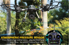 HUAJUIN W606-2 4CH 2.4G 5.8G FPV RC drone professional with hd adjustable camera 3D Roll Quadcopter Model Toys vs JJRC X1 X8W
