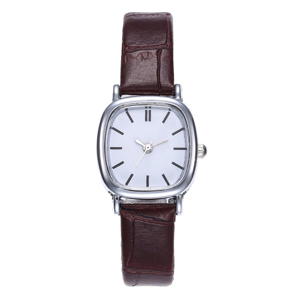 Women Watches Leather Fashion Wrist Watches Strap Line Analog Quartz Luxury Brand Ladies Wrist Simple Watches relogio feminino