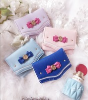 Free Shipping Samantha Vega Sailor Moon Luna Ladies Short Zipper Wallet Ladies Leather Purse