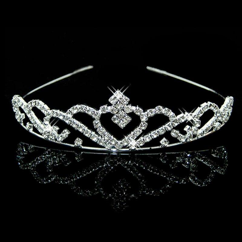 Joyme New Silver Crystal Rhinestone Pearls Hairbands For Women Bridal  Wedding Hair Accessories Tiara Headbands Crown Hairwear 2df9c62277e3