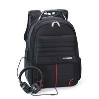 16 Inch Schoolbag USB Charge And Earphone Interface Men S Notebook Backpack Travel Bag Large Laptop