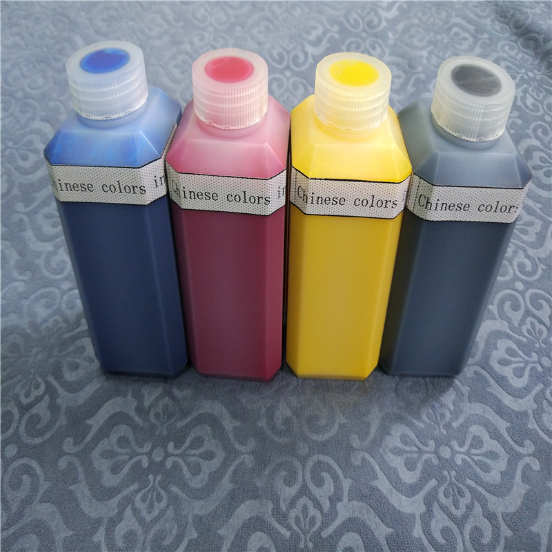 Textile pigment color ink 250ML*4  per lot   for DTG garment printer|lot|lot lot|  - title=