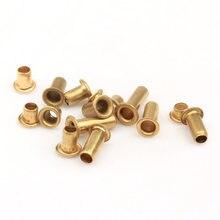 1000 pces m0.9 * 2.5/3 brandnew rebite oco de cobre, 0.9mm placa de circuito de dupla face pcb vias pregos