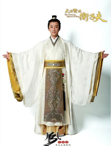 High quality hanfu male costume Ancient Chinese Emperor Costume TV Play about  Han Tang Ming dynasty emperor wear