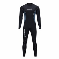 HISEA 5mm Neoprene Wetsuit DISCOVER 2018 Men Scuba Diving Suit Fleece Lining Warm Snorkeling Kite Surfing Spearfishing Swim Suit