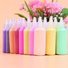 Песок живопись 24 цвета каждая бутылка 40 г/бутылка материалы для обучающих игрушек Песок кварц Zand подарок для мальчиков и девочек