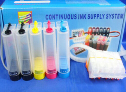 CISS CIS Ink For Canon IP4200 IP4300 IP4500 IP5200 IP5300 with Auto reset chip arc auto reset chip for hp950 refillable ink cartrige ciss cis 4pcs chips black cyan magenta yellow show ink level